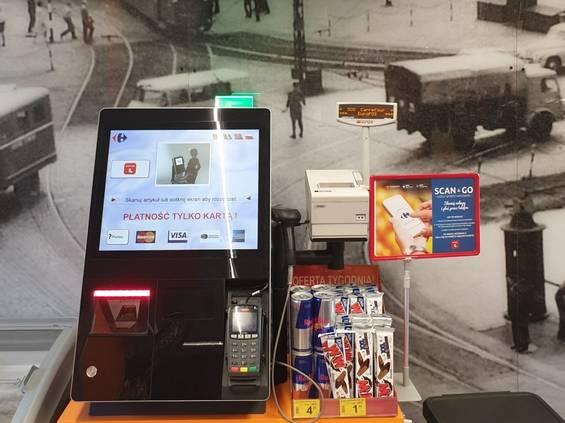 Minikasy samoobsługowe w Carrefourze
