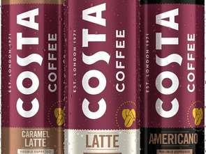 Coca-Cola HBC do 2020 r. poszerzy portfolio swoich produktów o kawy marki Costa Coffee