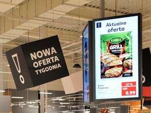 Interaktywne ekrany reklamowe w Kauflandzie