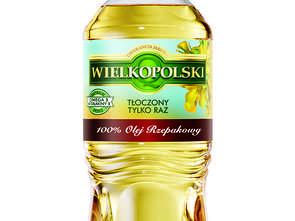 Pierwszy olej w butelce z recyklingu