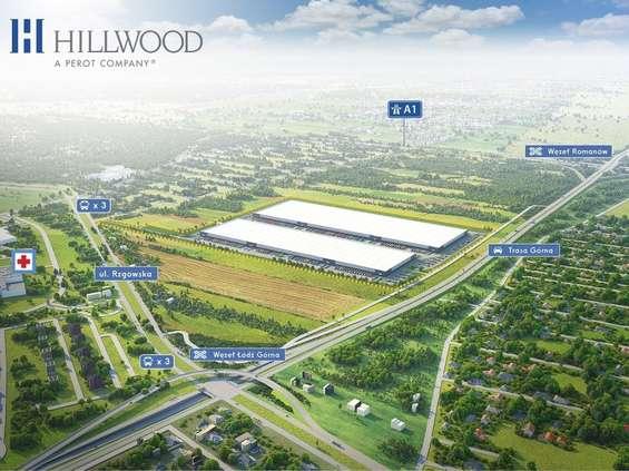 Hillwood Łódź Górna z pierwszym najemcą