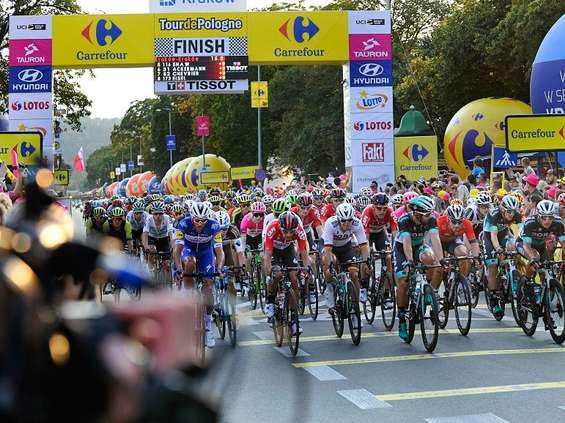 Prezes Carrefoura poprowadzi drużynę podczas Tour de Pologne