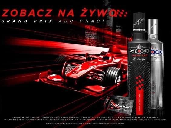 Wygraj wyjazd na Grand Prix do Abu Dhabi