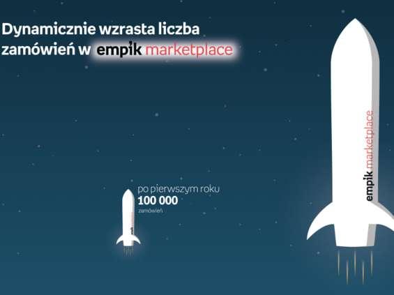500 tysięcy zamówień na platformie Empik.com