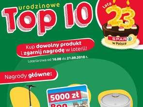 Spar Polska startuje z urodzinową loterią