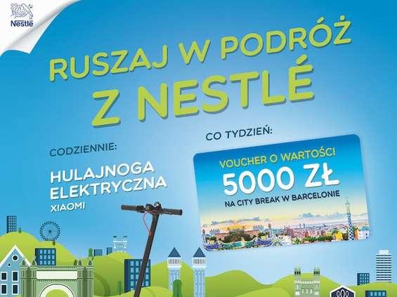 Ruszaj w podróż z Nestlé