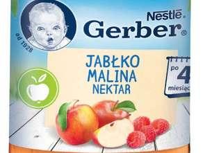 Nestlé Polska. Gerber Nektar Jabłko Malina