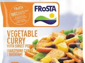 Frosta. Warzywne curry z batatami