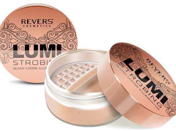 Revers Cosmetics. Lumi Strobing Glow Loose Highliter