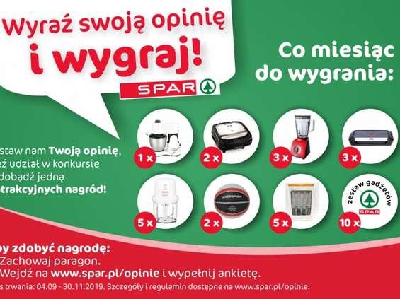 Spar Polska nagradza klientów