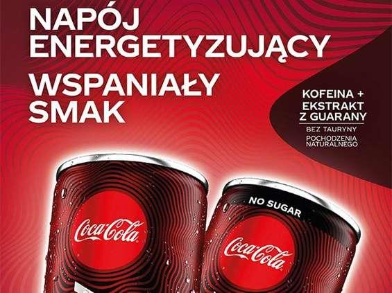 Coca-Cola Energy z silnym wsparciem marketingowym