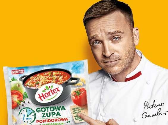 Mateusz Gessler w nowej kampanii Horteksu