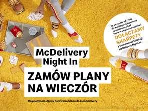 19. września McDonald's świętuje McDelivery Night In