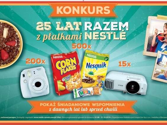 25 lat razem z płatkami Nestlé