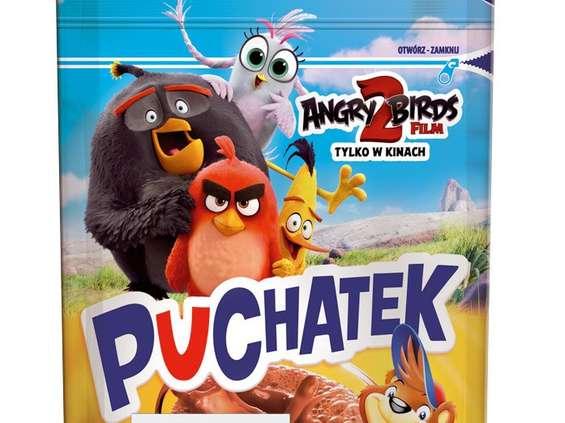 Puchatek z licencją Angry Birds 2