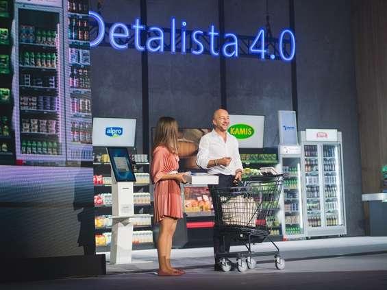 """""""Detalista 4.0"""": sklep przyszłości według Eurocashu i Microsoftu"""