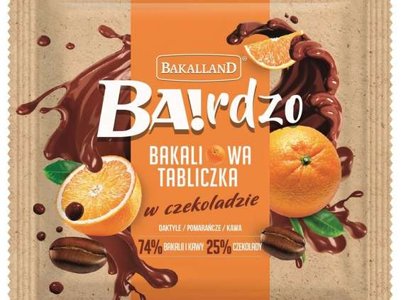 Bakalland wprowdza tabliczki czekoladowe z bakaliami