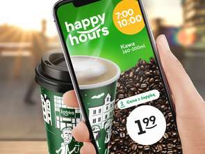 Happy hours w Żabce
