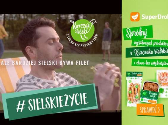 SuperDrob promuje Kurczaka Sielskiego