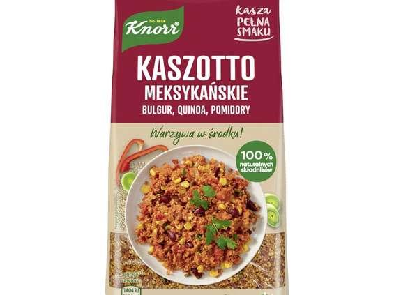 Unilever Polska. Kasza pełna smaku Knorr