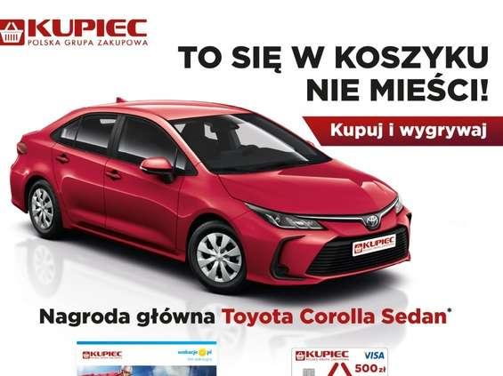 Samochód do wygrania w sklepach PGZ Kupiec