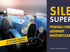 Historyczne Bugatti w Silesia City Center