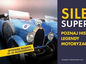 Historyczne Bugatti w Silesia City Center