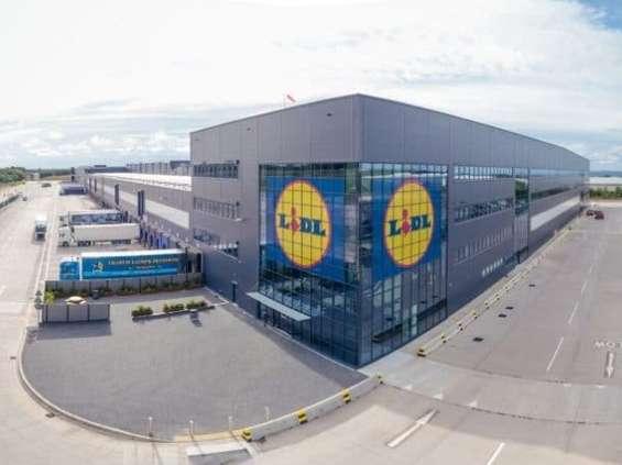 Lidl uruchamia swoje największe centrum dystrybucyjne
