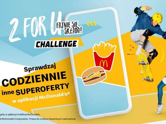 McDonald's z kamoanią 2 for U Challenge