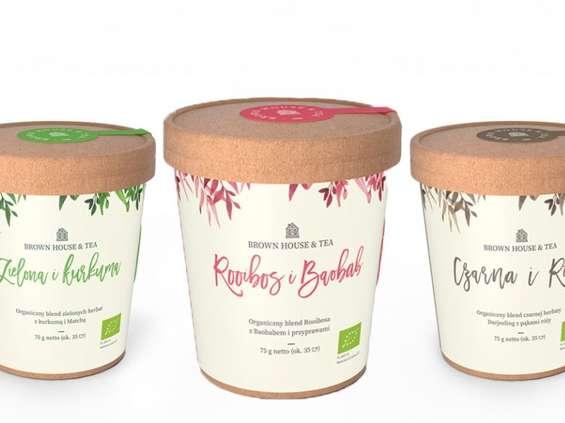 Brown House & Tea - nowy gracz na rynku herbaty