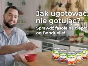 Jan i Aneta Kuroniowie w reklamie Bonduelle