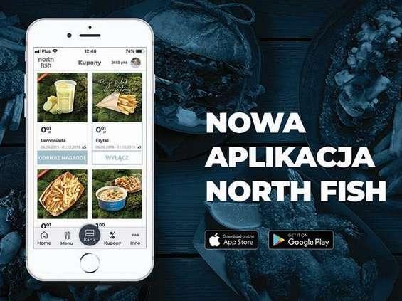 North Fish z aplikacją mobilną