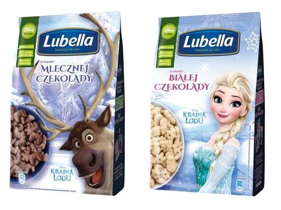 """""""Kraina lodu"""" Disneya na opakowaniach płatków Lubella"""