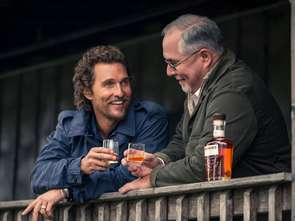 Matthew McConaughey i nowy burbon Wild Turkey Longbranch