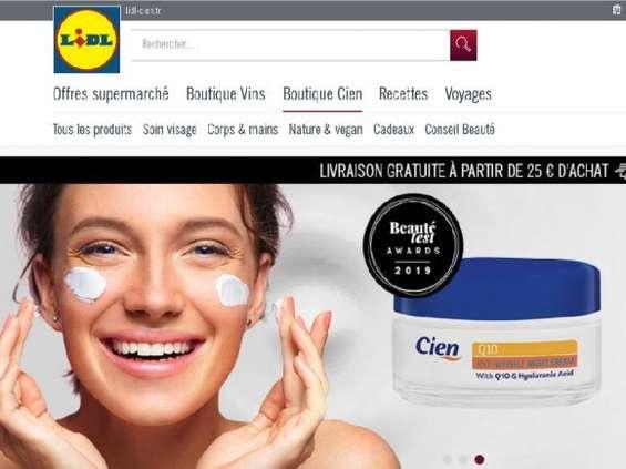 Lidl otwiera sklep internetowy z kosmetykami