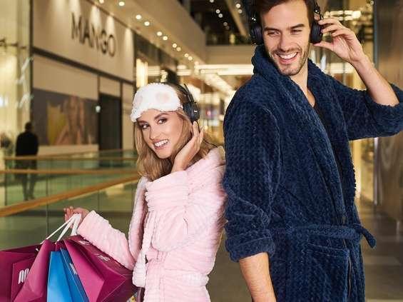 Premiowane zakupy w piżamach w Galerii Młociny