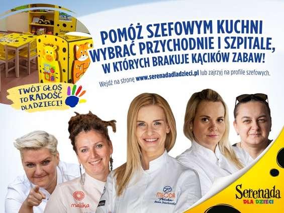 Szefowe kuchni w akcji Serenada dla dzieci
