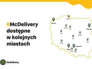 McDonald's rozwija usługę McDelivery