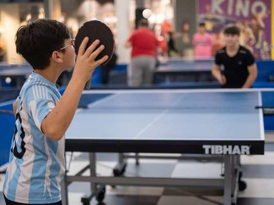 Tenis stołowy w Atrium Reduta