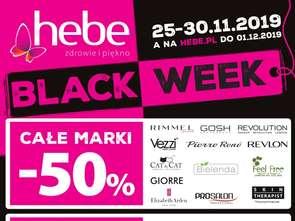 Black Week w Hebe