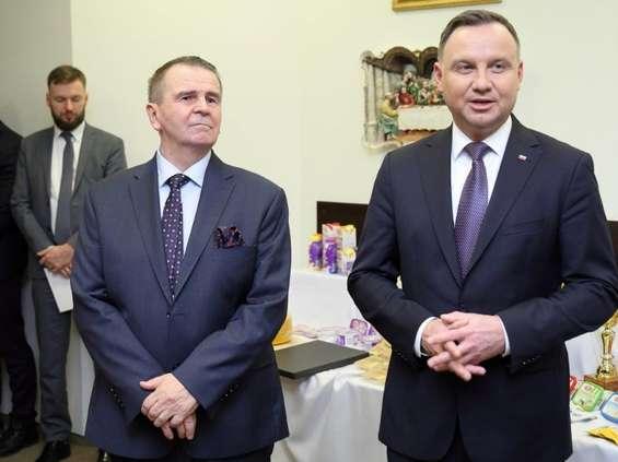 Andrzej Duda z wizytą w Mlekovicie