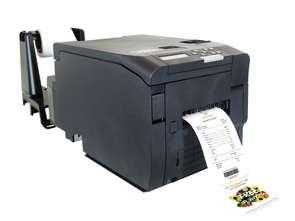 Kolorowa drukarka etykiet LED na suchy toner
