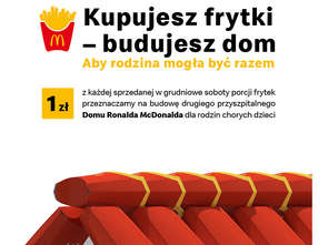 McDonald's pomaga