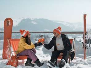 Zimowy wypoczynek z Aperolem