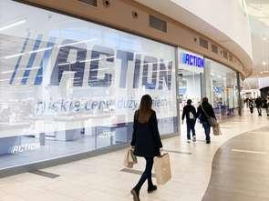 Avenida z pierwszym w Poznaniu sklepem Action