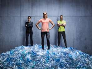 Odzież na bazie plastiku z recyklingu w Kauflandzie