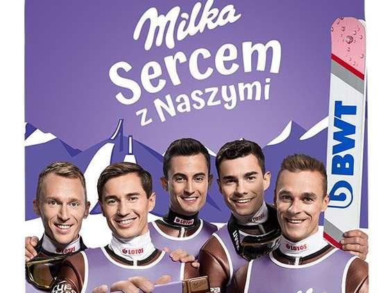Milka zagrzewa do bycia Sercem z Naszymi