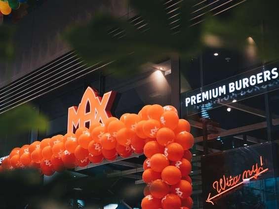 MAX Premium Burgers wkrótce w Złotych Tarasach