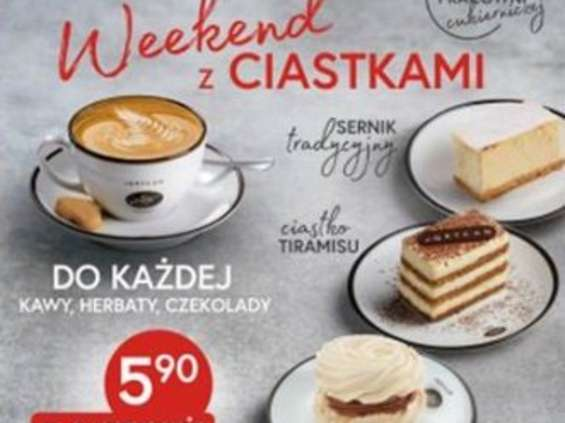 Weekend z ciastkami u Grycana