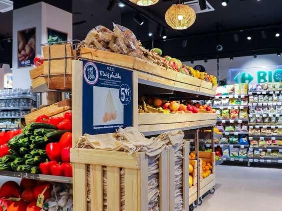 Wielorazowe woreczki bawełniane w Carrefour